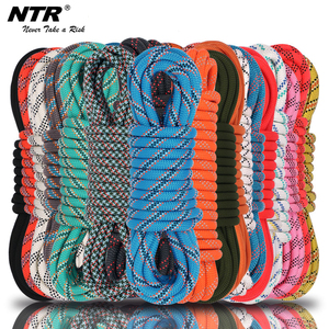 NTR color braided rope high quality 16-strand double braid
