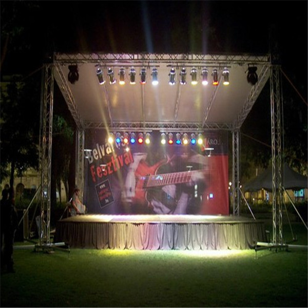 lighting DJ stand small truss : small stage lighting - azcodes.com