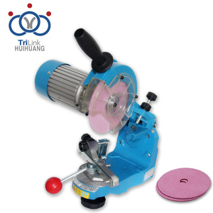 Chain saw sharpening tools abrasive disc type electric chainsaw sharpener kit