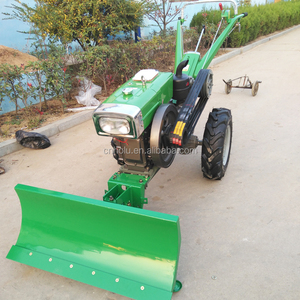 Engine Grass Tractors With Walk Behind Flail Mower Power Tiller Walking  Tractor Attachments