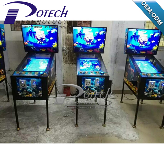 3d Treasure Deep Sea Virtual Pinball Arcade Game Machine For Sale ...