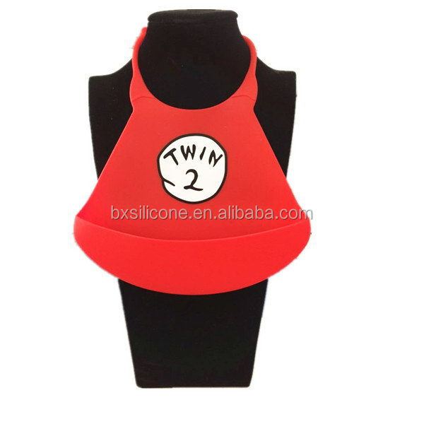 Top level hot sale baby bibs made of fda silicone rubber