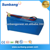 Portable rechargeable 10v 36 volt battery pack for home appliances