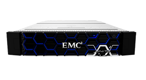 EMC Unity 400F All-Flash Storage supporting traditional and transactional NAS with 64-bit scalable file system