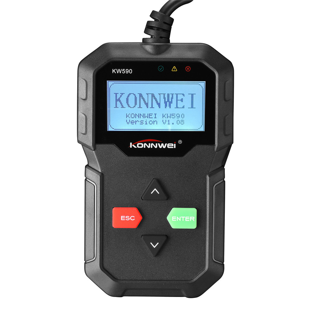 KONNWEI KW590 12v cars portable obd2 Car Scanners Best Cheap Handheld Automotive Code Reader Multi Language Car Diagnostic Tools