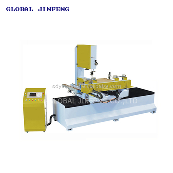 CNC band sawing machine, high precision bandsaw machinery, CE quality glass machinery