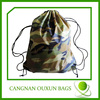 Factory direct sale camouflage drawstring bags wholesale