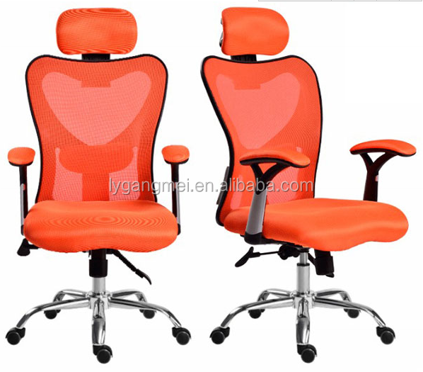 Office used best price mech swivel chair with headrest