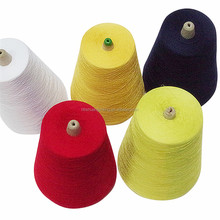 Core Spun Yarn Style and Combed Yarn Type 100 pima cotton yarn
