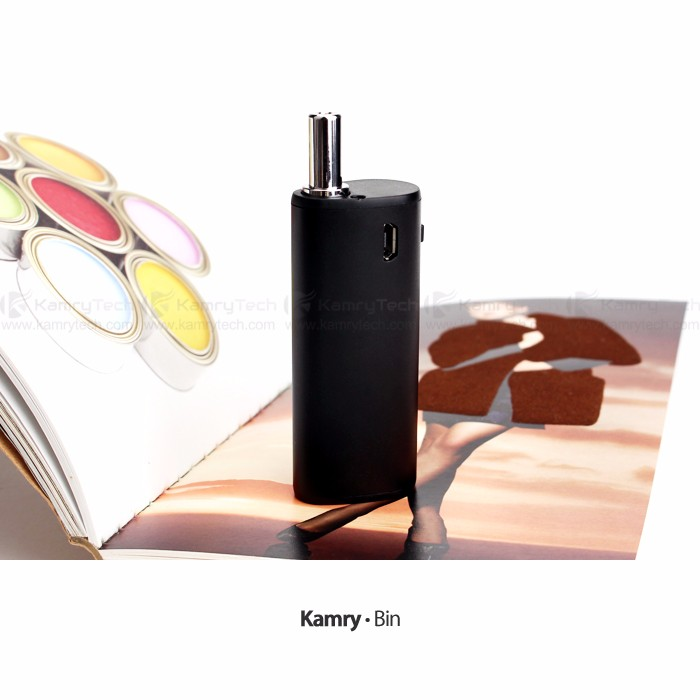 New ecig mod Kamry Bin electronic vapor with Refillable tank CDB vape