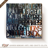 China Factory Abstract Original Oil Wall Painting Designs