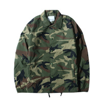 China factory custom bomber jacket wholesale mens camo nylon coaches jacket