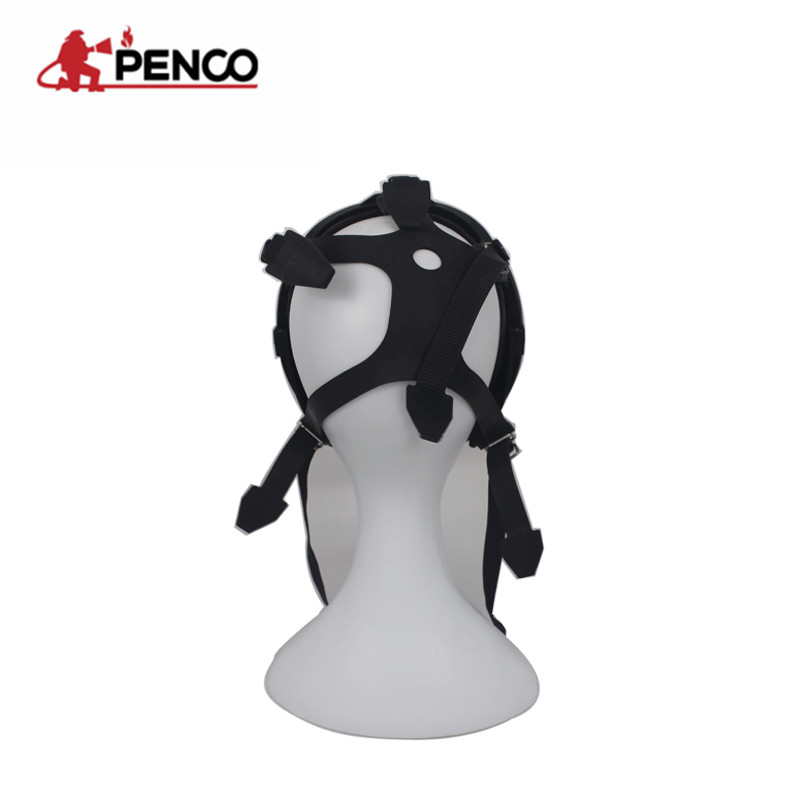 Anti-fog lens eye protection breathing protective full face gas mask