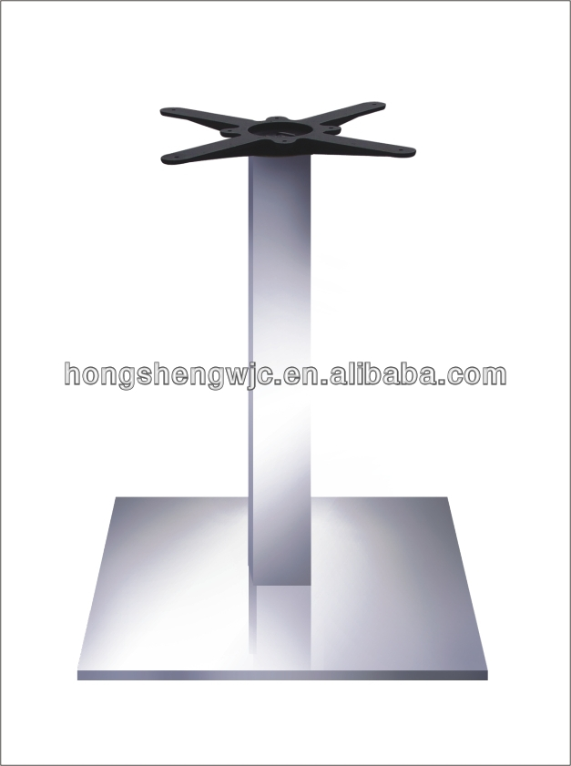 Charmant HS A046 Hollow Round Black Cast Iron Restaurant Table Base Outdoor  Furniture Leg Used In