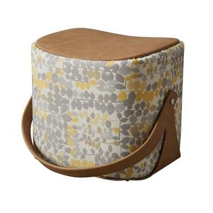 Simple design luxury style ottoman pouf furniture in indian