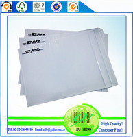 cheap plastic clear back pouch wholesale, guangzhou