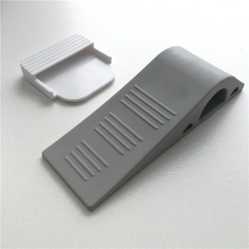With Storage Holder Door Stop Rubber Wedge Stopper