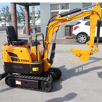 Mini Excavator Rhinoceros Mini Digging Machine Xn08 - Buy ...