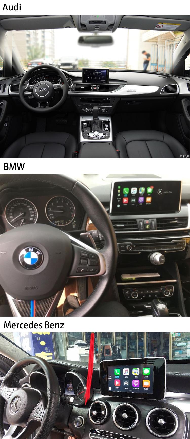 Carlinkit Apple Wireless Carplay Mirror Link Interface For Audi Mercedes  Benz Bmw - Buy Carplay Interface For Audi,Carplay Wireless,Carplay For Audi