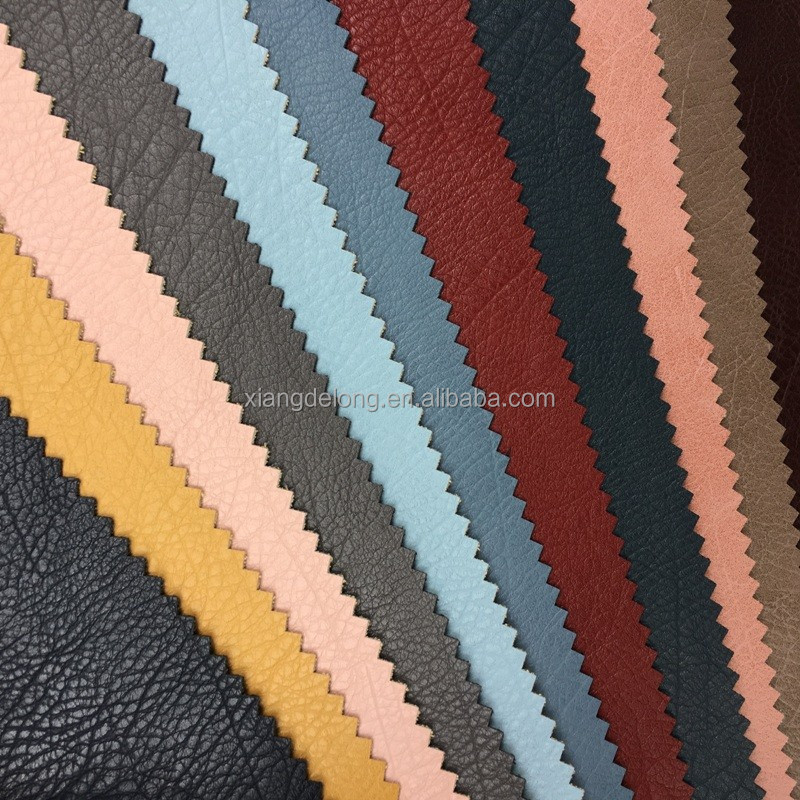 New style color pu leather for bag shoes and sofa