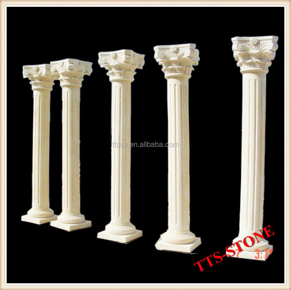Hand Carved Decorative Wedding Columns For Sale