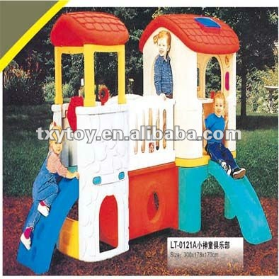 children slide house LT-0121A