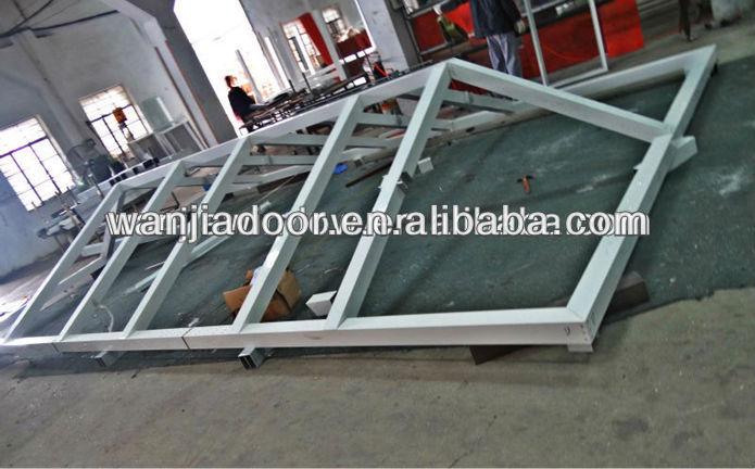 Aluminum Sunroom Glass Roof View Glass Roof Wanjia