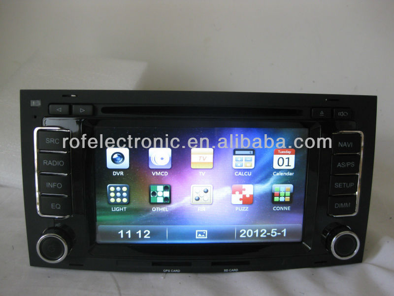 car navigation system ROF-1102HD-1 special For VW touareg/Multivan( 2002-2010 )
