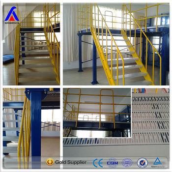Raised Storage Portable Steel Stage Platform