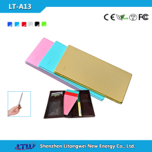 Ultra Thin Credit Card Power Bank for All Kind of Mobile Phone Most Popular Universal Portable Battery Charger