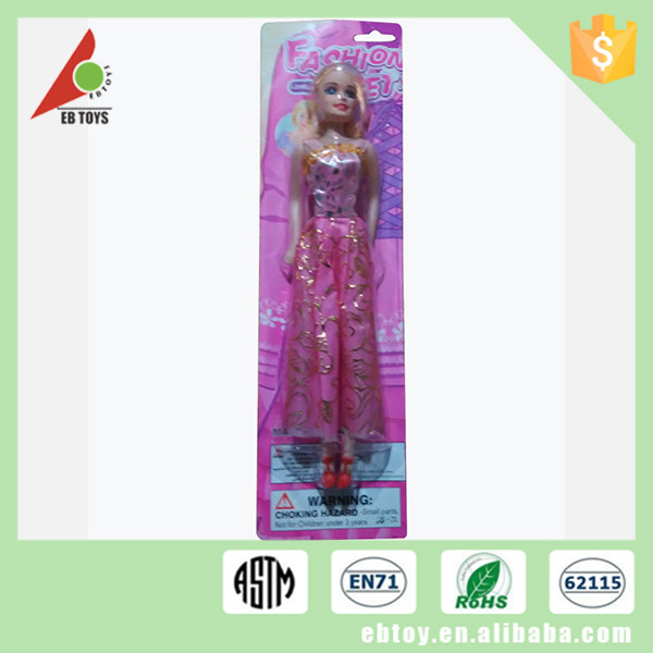 Wholesale beautiful plastic slender female model toy doll