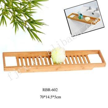 Bambú Bañera Estante 5a0d86bea4e1