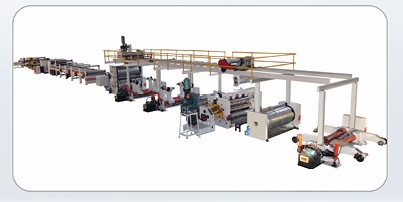 FIve layer corrugated cardboard production line price