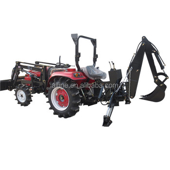 Hot sale factory supply tractor mounted backhoe