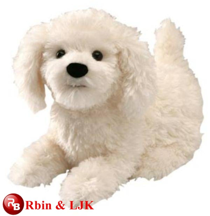 OEM soft ICTI plush toy factory plush toy dogs that look real
