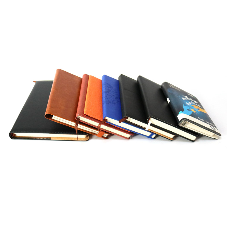 Brand New Custom Leather Bound Notebook Dell'unità di elaborazione Fascia Elastica Notebook