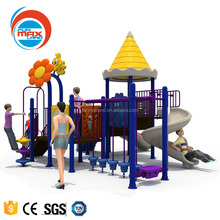 New place of kids play salon-outdoor playground area,we can supply cheap kids outdoor play equipment