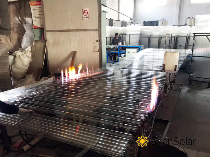 Stainless steel solar water heater price