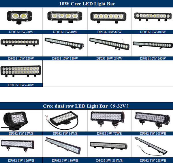 Brightest 55inch 300w Led Light Bar Offroad Curved Light Bars 4x4 ...