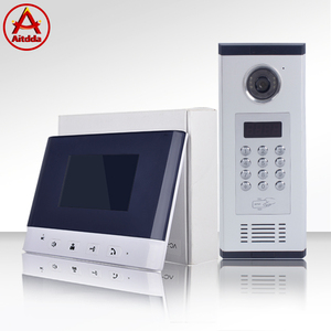 Aitdda high quality Multi Apartment video door phone building audio / video intercom system for apartments