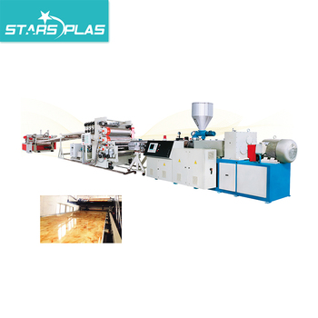 SPC Floor Extrusion Machine Production Line