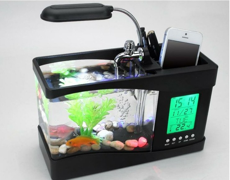 Innovative Unique Home Decoration Mini Usb Lamp Light Fish Tank ...