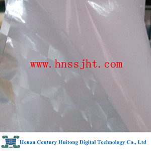 photo cold lamination film 3d pvc with cat eye effect