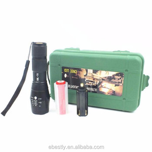 Zoomable 5 modes rechargeable led torch flashlight led flashlight torch,tactical led flashlight manufacturers
