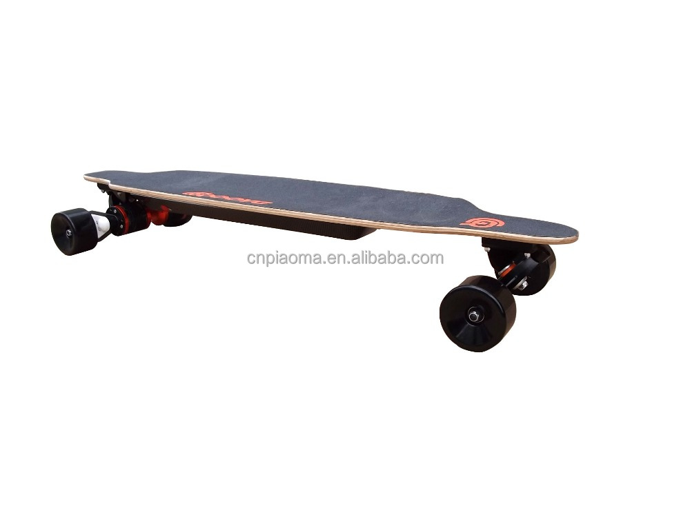 the lighter and thinner electric skateboard with dual motor, bigger power and east-to-carry