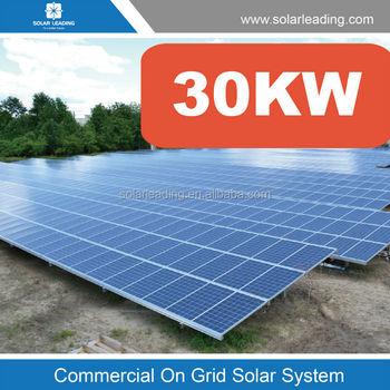 Solar Energy System 30kw Solar Panel System Solar Power