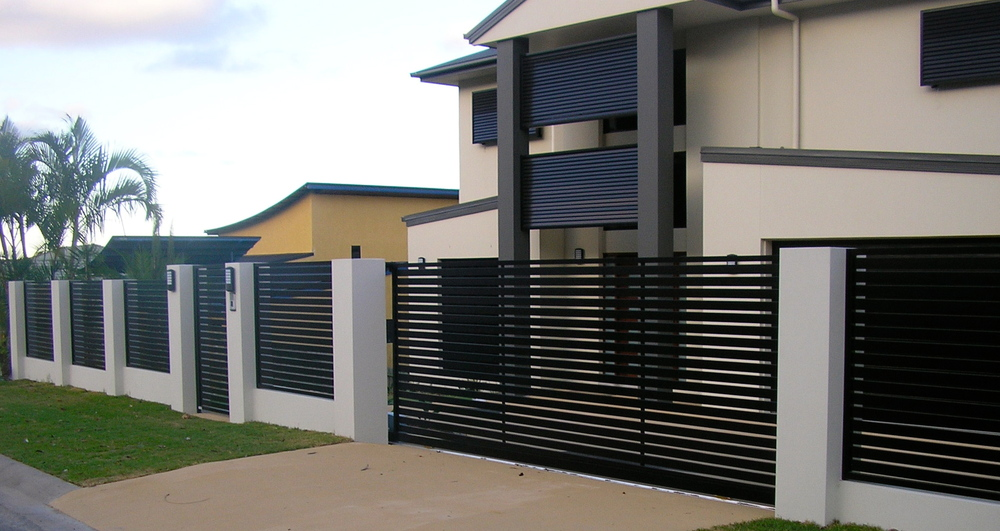 Aluminum driveway sliding gate and swing gate buy for Aluminum driveway gates prices