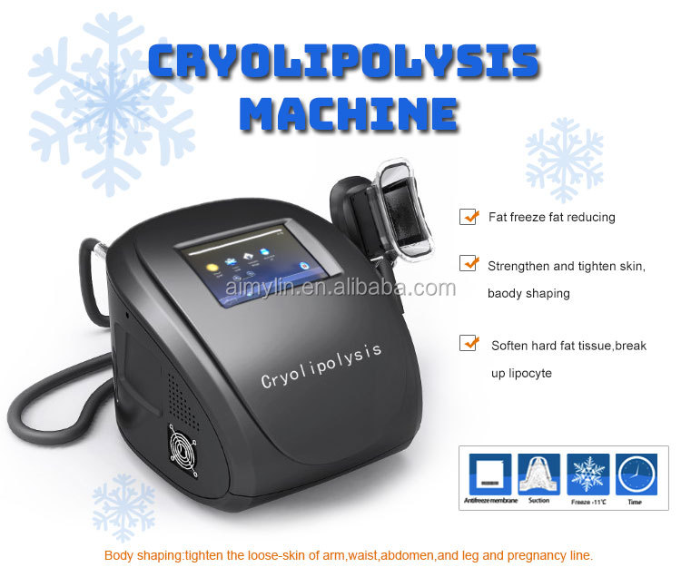 Home beauty care cryolipolysis machine 3 handles