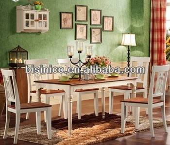 Bisini Dining Set, English Country Style Dining Room Furniture Set Kitchen  Table And Chairs
