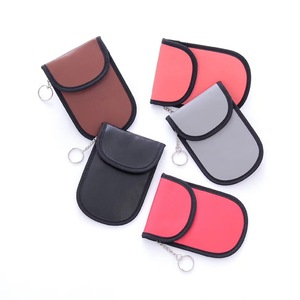 RFID Blocking Wallet Key Fob Shield bag Car Key Fob Signal Blocking Pouch Bag Fob Guard Car Key Signal Blocker Bag